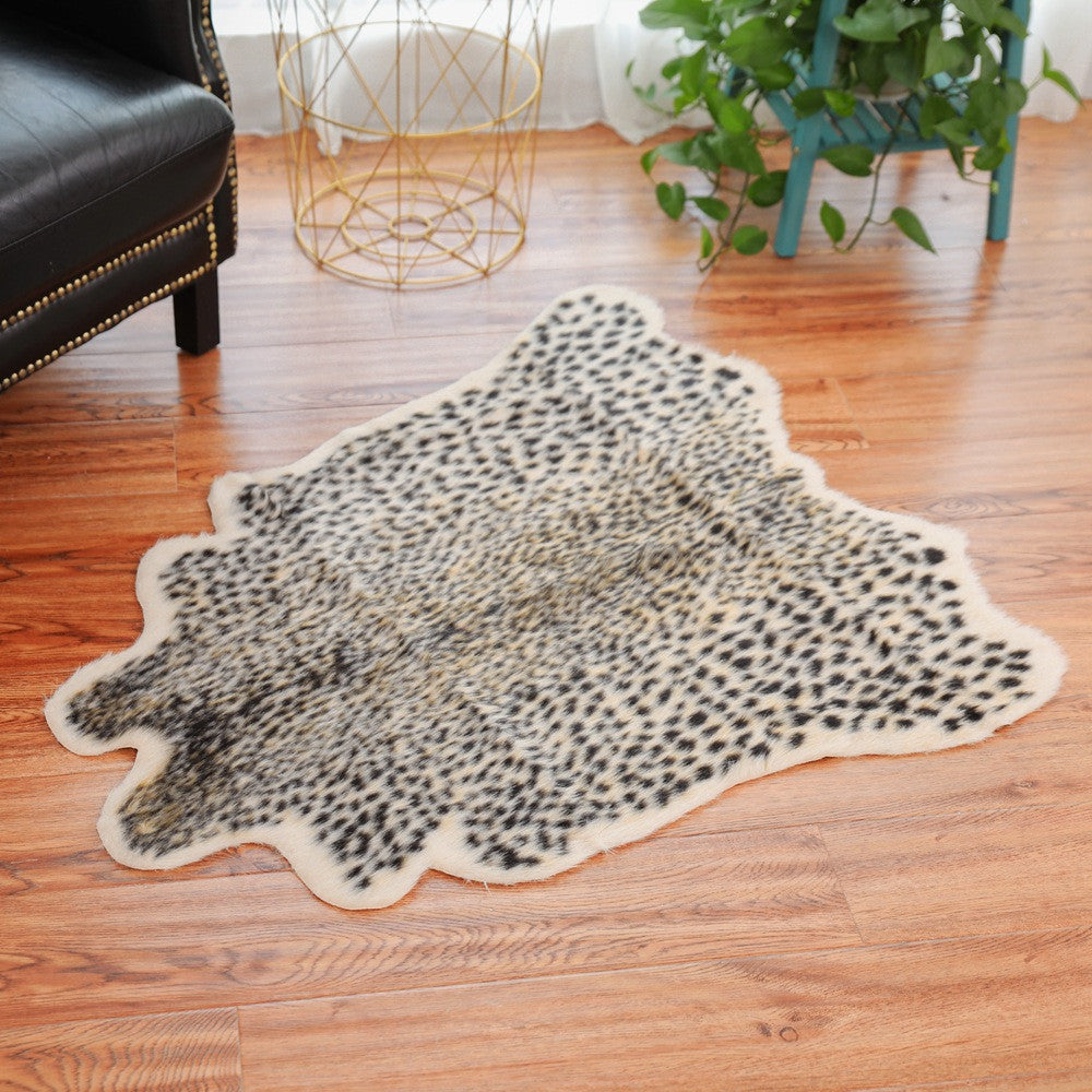 Professional Design High Quality Leopard Tiger Zebra Cow Hide Mat Rug Animal Printed Home Carpet Drop Shipping