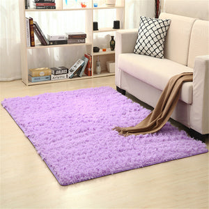 Living Room/Bedroom cotton Rug blanket Ultra Soft Modern Area Rugs Shaggy Mats Home Room Plush Carpet Modern Home Decor 80x160cm