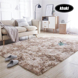 7 Colors Carpet Tie Dyeing Plush Soft Carpets For Living Room Bedroom Anti-slip Floor Mats Bedroom Water Absorption Carpet Rugs - LikeRE Marketplace