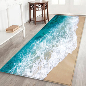 9 style Living room/bedroom Antiskid Soft Solid Rug Carpet Hallway Doormat Anti -Slip Carpet Absorb Water Kitchen Mat 60X180CM - LikeRE Marketplace