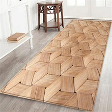 Load image into Gallery viewer, 9 style Living room/bedroom Antiskid Soft Solid Rug Carpet Hallway Doormat Anti -Slip Carpet Absorb Water Kitchen Mat 60X180CM - LikeRE Marketplace