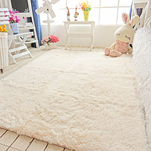Plush pv fleece living room carpet table mats pad  mat bed rug carpets for bedroom living room corridor  porch parlor 160x230cm