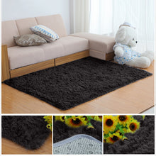 Load image into Gallery viewer, Soft Fluffy Women yoga Shaggy Carpets For Living Room Longer Wash Fastness Bedroom Carpet Decor for home Area Rug Alfombra D35