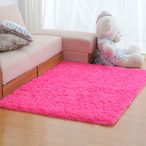 Soft Fluffy Women yoga Shaggy Carpets For Living Room Longer Wash Fastness Bedroom Carpet Decor for home Area Rug Alfombra D35