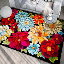 Load image into Gallery viewer, New Style High Quality Art Flower Art Carpet For Living Room Bedroom Anti-Slip Floor Mat Fashion Kitchen Carpet Area Rugs