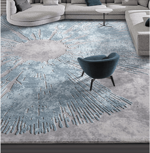 100% wool material New Zealand wool  carpets Floor rugs  living room  bedroom Large size Custom carpet - LikeRE Marketplace