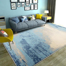 Load image into Gallery viewer, Mediterranean Living Room Carpet Home Decoration Carpet Bedroom Sofa Foot Pad Study Thickened Polypropylene Floor Mats - LikeRE Marketplace