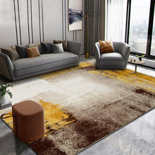 Load image into Gallery viewer, American Abstract Rug Living Room Household Floor Mat Sofa Coffee Table Floor Mat Thickened Polypropylene Floor Mat and Carpet - LikeRE Marketplace