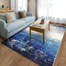 Load image into Gallery viewer, Blue Mediterranean living room carpet home decoration bedroom sofa coffee table floor mat floor mat restaurant carpet - LikeRE Marketplace