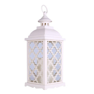 Hollow Holder Candlestick Tealight Hanging Lantern Bird Cage Vintage Wrought