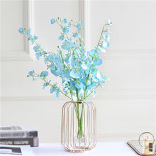 Load image into Gallery viewer, Nordic Style Art Wire Vases Flowerpot Wedding Home Decoration Accessories For Living Room Nordic Minimalist Flower Shelf z0408#G