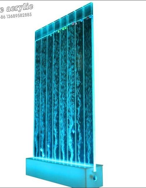 Best Seller Accept Customized Bubble Water Feature Wall Acrylic LED Light with remote control Screens & Room Dividers on Sale - LikeRE Marketplace