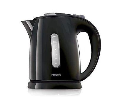 Philips Kettle 1.5L 2400W (HD4646/BK) - Black - Gazoomba