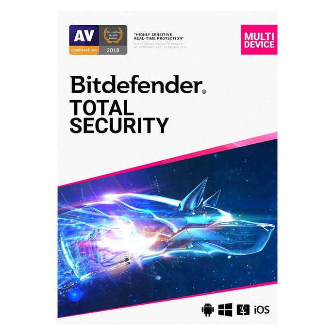 Bitdefender Total Security 5 Device + MyCyberCare