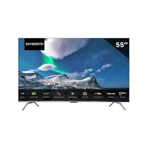 Skyworth 55'' LED Backlit UHD 4K Infinity Screen Android Smart TV - Gazoomba