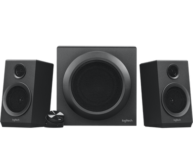 Logitech Z333 2.1 Computer Speaker System with Subwoofer - Gazoomba