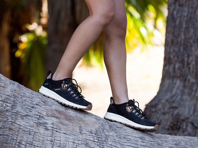 low-top hiking sneakers for women