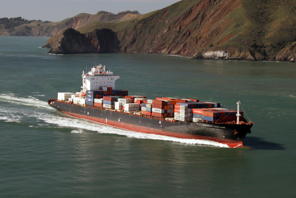 Ocean freight from Asia