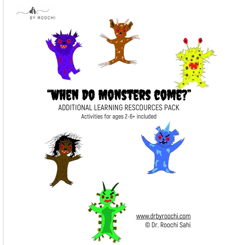 Monsters Learning Resources Pack - Dr. By Roochi