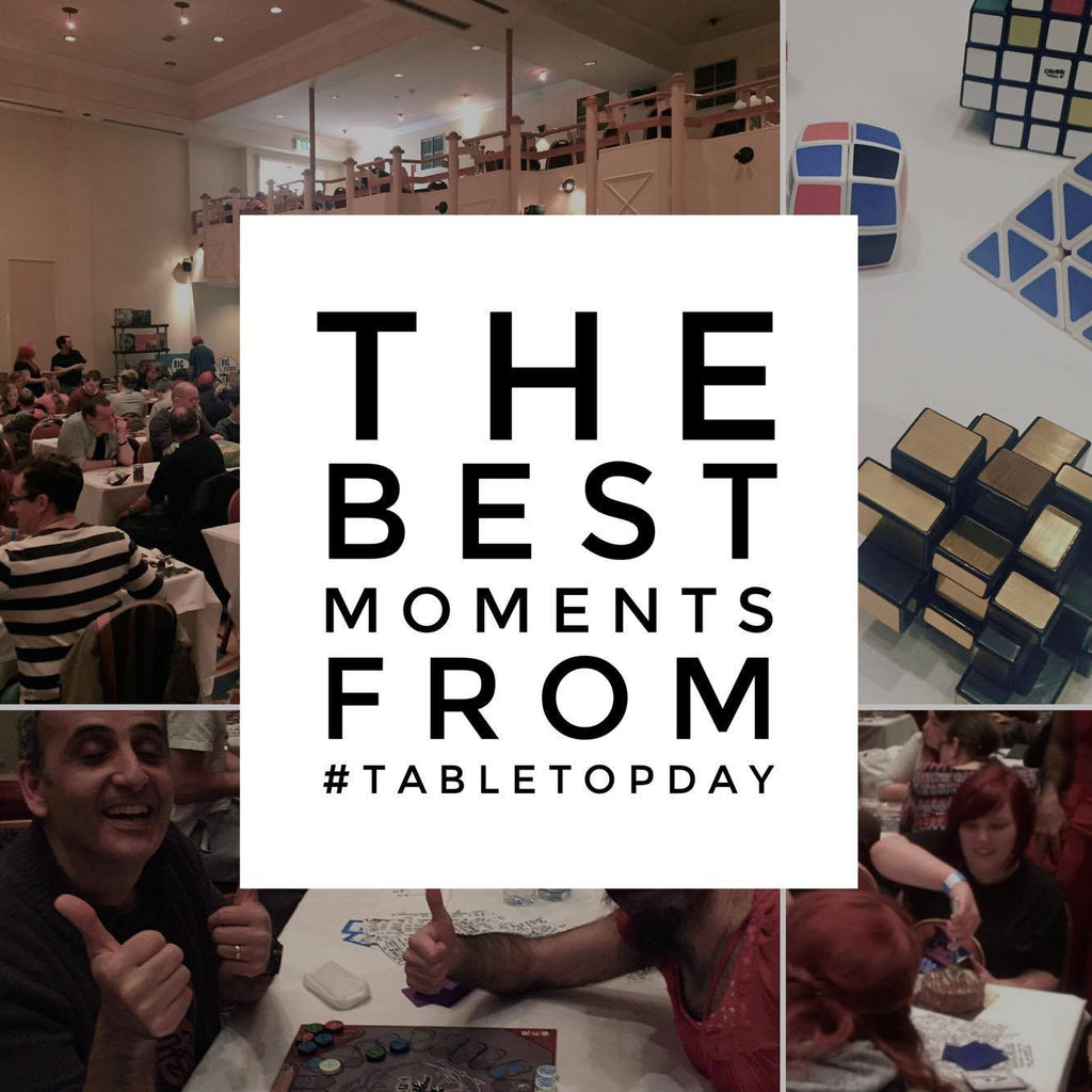 The Best Moments From #TableTopDay