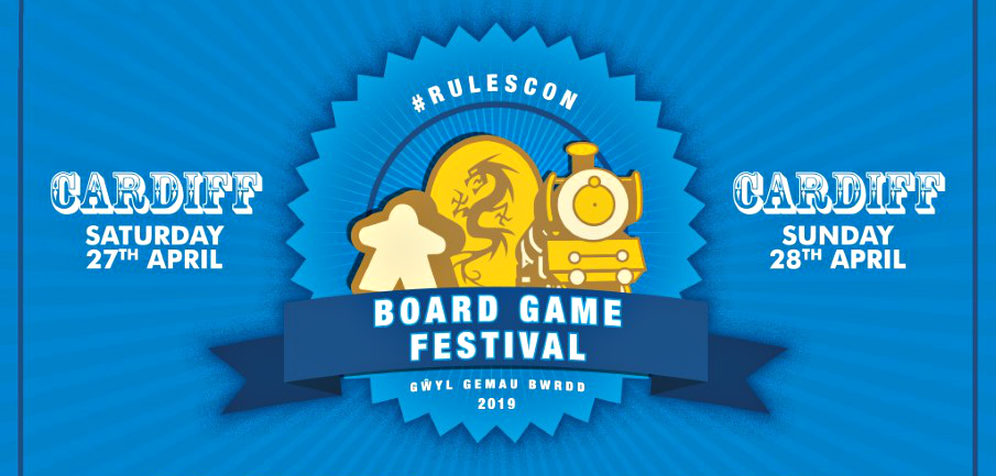 Announcing... #RulesCon Board Game Festival 2019!