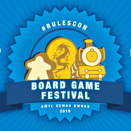 RulesCon Board Game Festival event banner - International TableTop Day 2019 in Cardiff