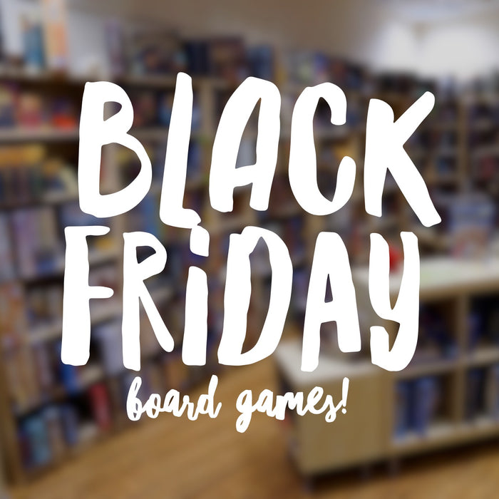 Get this year's Black Friday board games at 40% off!
