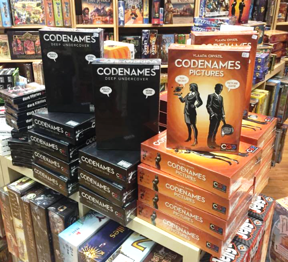Be the ultimate secret agent in the Codenames series