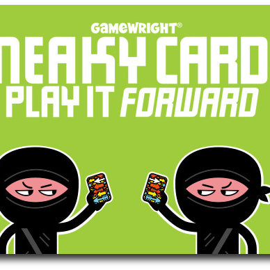 COMPETITION: Get your Sneaky Cards across the globe!