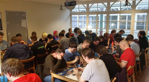 Friday night magic at Rules of Play for Cardiff students
