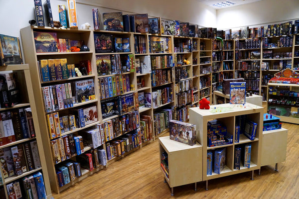 Rules of Play Cardiff board games and tabletop shop - interior
