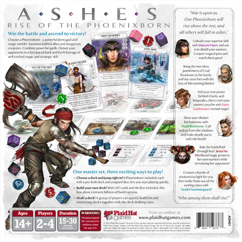 Buy Ashes: Rise of the Phoenixborn from Rules of Play