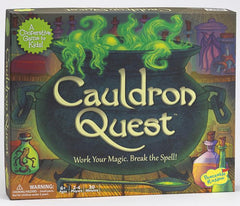 Cauldron Quest, a cooperative kids game