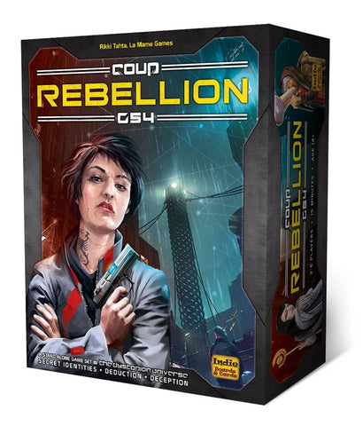 Coup: Rebellion G54 from Rules of Play