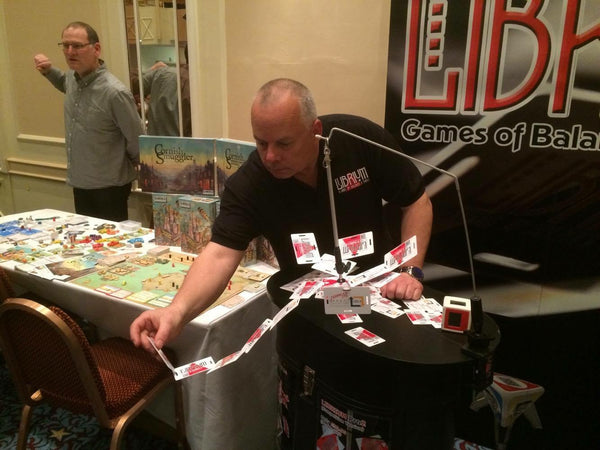 Steve from Librium Games at TableTop Day