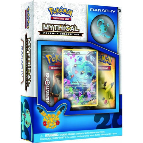 POKÉMON MANAPHY MYTHICAL COLLECTION
