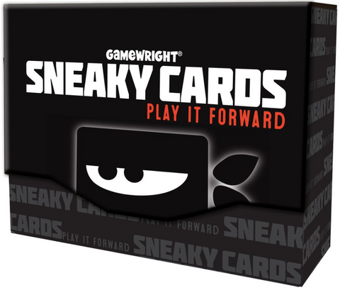 Sneaky Cards competition with Rules of Play