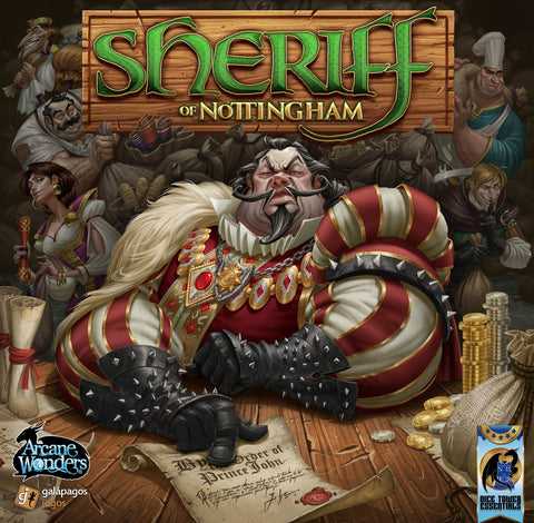 Buy the board game Sheriff of Nottingham from Rules of Play