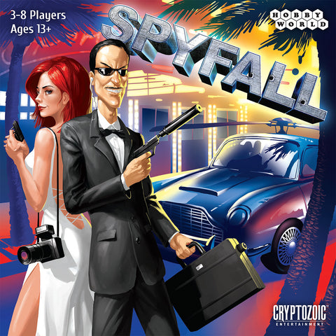 Spyfall card game - buy now from Rules of Play