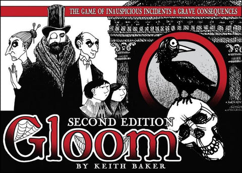 Gloom card game for Halloween gatherings