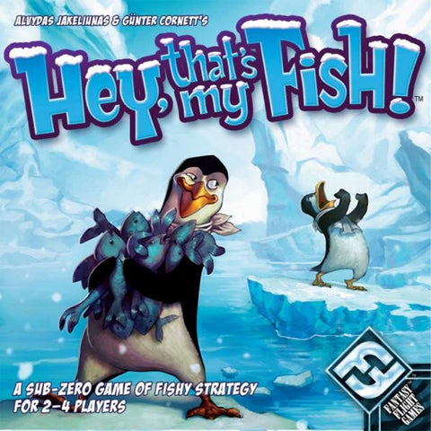 Hey That's My Fish family board game