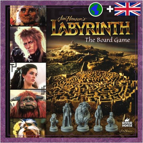 Jim Henson's Labyrinth board game, available to pre-order from Rules of Play