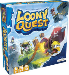 Loony Quest, the family board game for kids