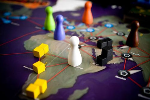 Buy Pandemic from Rules of Play and save the world!