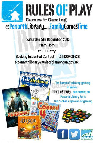 Penarth Library family games day