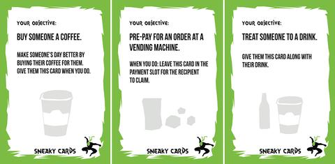 Sneaky Cards game competition with Rules of Play