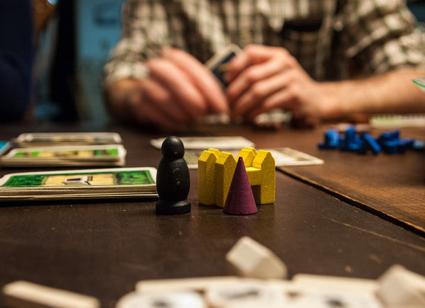 Rules of Play board game events in Cardiff and Bristol with Chance & Counters