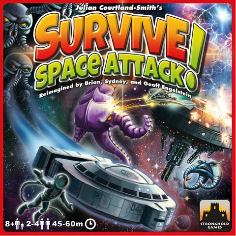 Survive Space Attack, buy now from Rules of Play