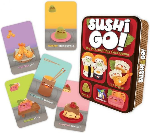 Sushi Go game components