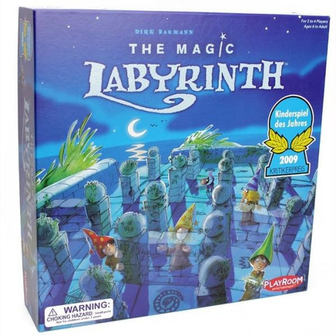 The Magic Labyrinth, family board game available at Rules of Play